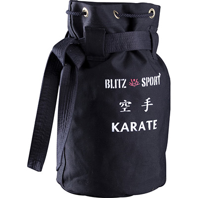Karate-Black-Duffle-Bag